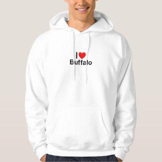 Ik houd van de Buffels van het Hart Hoodie