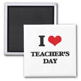 Ik houd van de Dag van Leraren Magneet