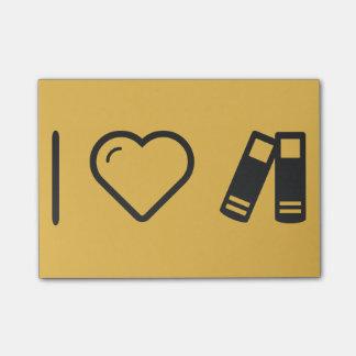 Ik houd van de Gadgets van het Paar Post-it® Notes