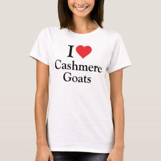 Ik houd van de Geiten van het Kasjmier T Shirt