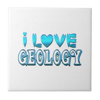 Ik houd van de Geologie Tegeltje