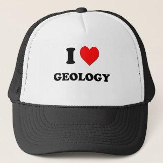Ik houd van de Geologie Trucker Pet
