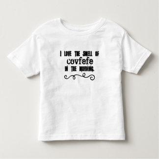 Ik houd van de Geur van Covfefe in de Ochtend Kinder Shirts