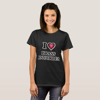 Ik houd van de Gewrichten van het Messing T Shirt