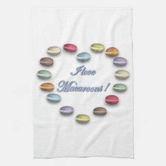 Ik houd van de Handdoek van Makarons