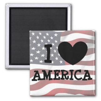 Ik houd van de Ijskast van Amerika of de Magneet