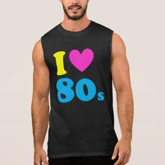 Ik houd van de jaren '80 t shirt