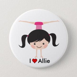 Ik houd van de Knoop van Allie Twinpossible Ronde Button 7,6 Cm