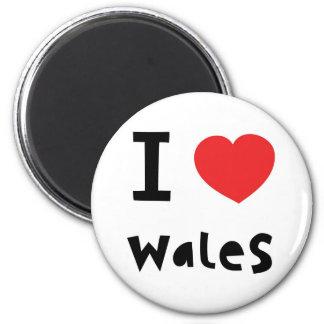 Ik houd van de magneet van Wales