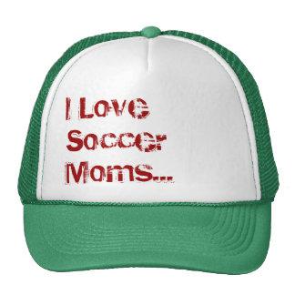 Ik houd van de Mamma's van het Voetbal… (Pet) Pet Met Netje