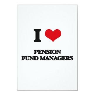 Ik houd van de Managers van het Fonds van het Uitnodigingen