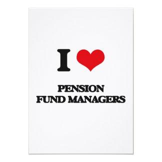 Ik houd van de Managers van het Fonds van het Gepersonaliseerde Uitnodigingen