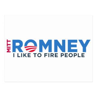 Ik houd van de Mensen van de Brand van T Briefkaart