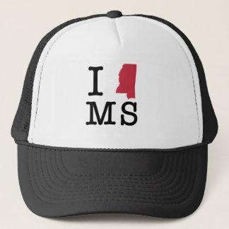Ik houd van de Mississippi Trucker Pet