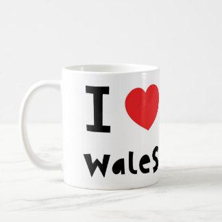 Ik houd van de mok van Wales