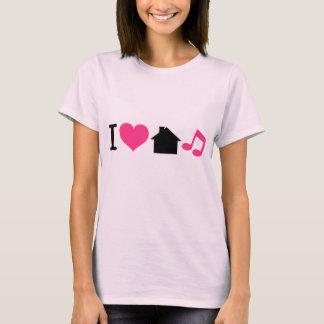 Ik houd van de Muziek van het Huis T Shirt