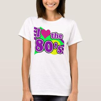 Ik houd van de Partij van de Jaren '80 van het de T Shirt
