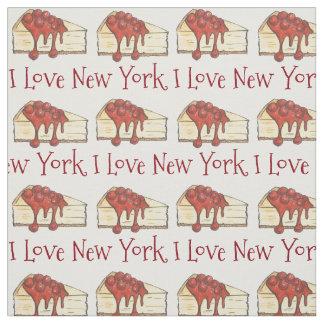 Ik houd van de Plak van de Kaastaart NYC van de Stof