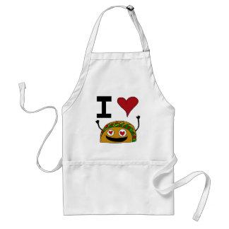 Ik houd van de Schort van de Taco