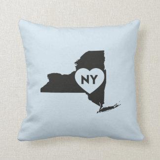 Ik houd van de Staat van New York werp Hoofdkussen Sierkussen