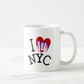 Ik houd van de Stad van New York Koffiemok