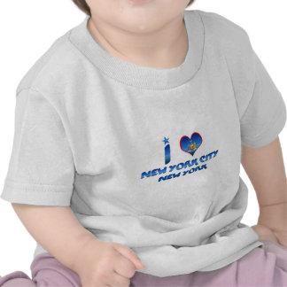 Ik houd van de Stad van New York, New York T-shirts