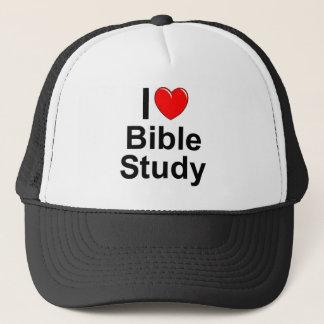 Ik houd van de Studie van de Bijbel (van het Hart) Trucker Pet