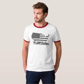 Ik houd van de T-shirt van Amerika