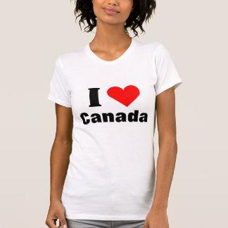 Ik houd van de T-shirt van het Hart van Canada