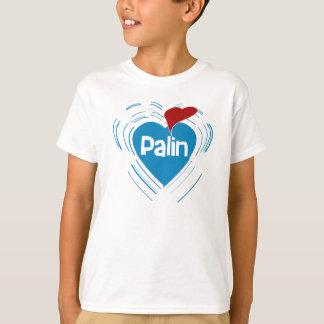 Ik houd van de T-shirt van het Kind van Sarah