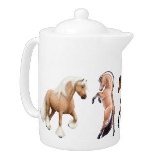 Ik houd van de Theepot van Paarden