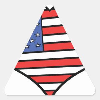 Ik houd van de trots van Amerika - van de Stickers