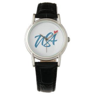 Ik houd van de V.S. Horloge