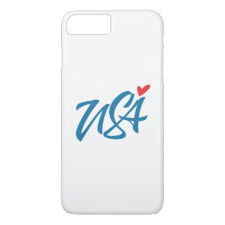 Ik houd van de V.S. iPhone 8/7 Plus Hoesje