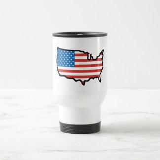 Ik houd van de Vlag van Amerika - van Verenigde Reisbeker