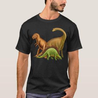 Ik houd van de Volwassen Donkere T-shirt van