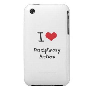 Ik houd van Disciplinaire Actie iPhone 3 Hoesje