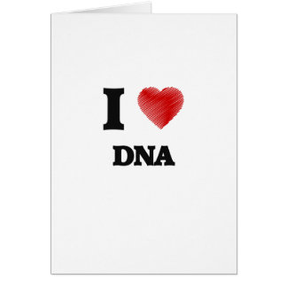 Ik houd van DNA Briefkaarten 0