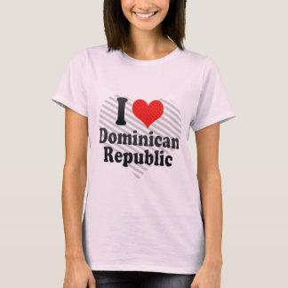 Ik houd van Dominicaan+Republiek T Shirt