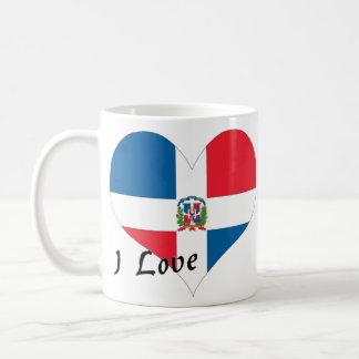 Ik houd van Dominicaanse Republiek Koffiemok