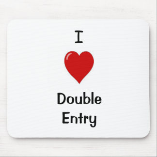 Ik houd van Dubbele Ingang Muismatten