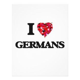 Ik houd van Duitsers Flyer 21,6 X 27,9 Cm