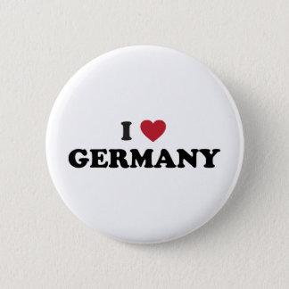 Ik houd van Duitsland Ronde Button 5,7 Cm