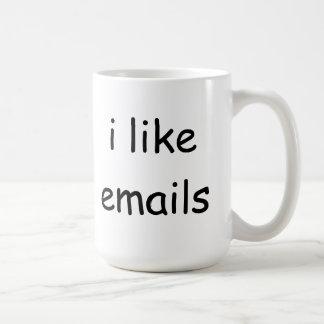 Ik houd van e-mailkoffiemok koffiemok