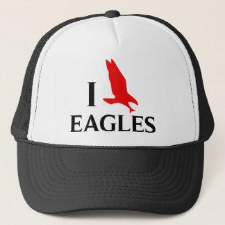 Ik houd van Eagles Trucker Pet