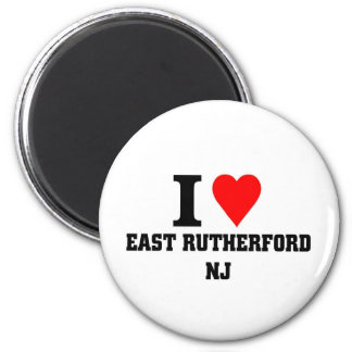 Ik houd van East Rutherford, New Jersey Magneet