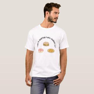 Ik houd van een goed-Rond gemaakt Dieet te T Shirt