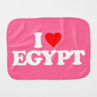 IK HOUD VAN EGYPTE SPUUGDOEKJE