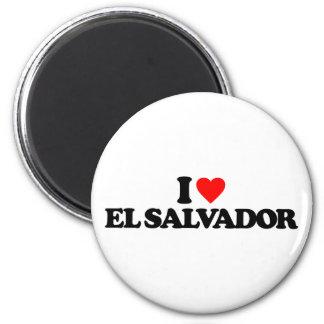 IK HOUD VAN EL SALVADOR MAGNEET