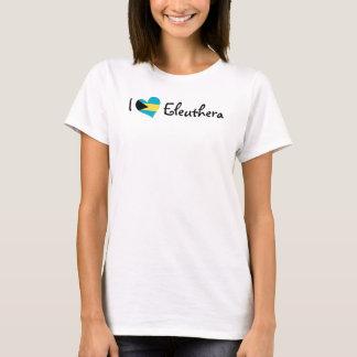 Ik houd van Eleuthera T Shirt